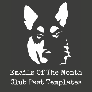 Emails of the Month Templates